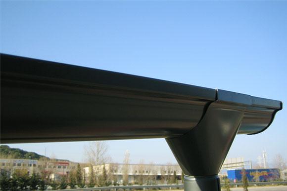 Canalones de aluminio continuo