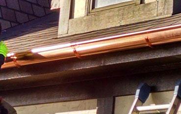 canalones de cobre en Colmenar Viejo