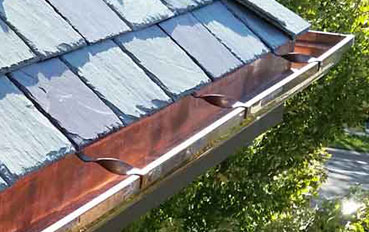 canalones de cobre en Galapagar
