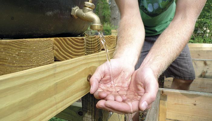 Reutilizar el agua de los canalones