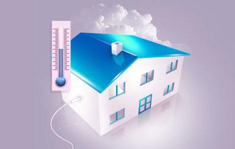 Eficiencia y temperatura del hogar
