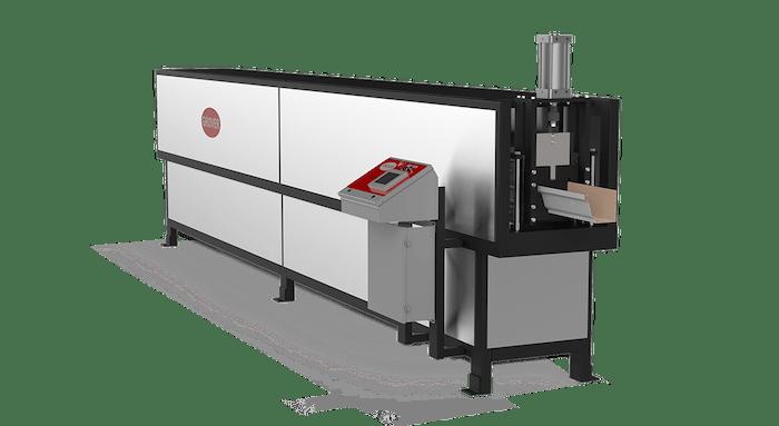 Máquina perfiladora para fabricar canalones