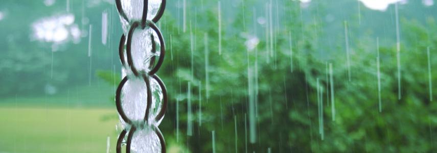 Cadena De Lluvia Para Evacuar Agua