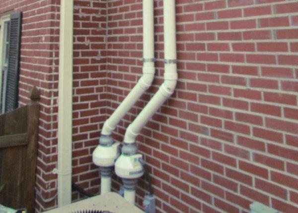 Redes de aguas pluvial y residual separadas